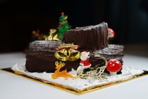 Christmas Special Order - Cherry Chocolate Mousse Roulade / Buche de Noel / Yule Log