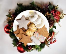 Christmas Special Order - Vanillekipferl, Zimtsterne (Cinnamon Star), Kris Kringle Cookies
